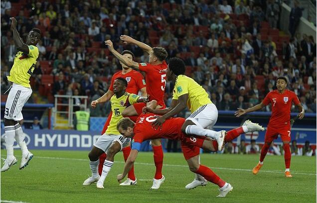 超过19万人请愿,要求英格兰与哥伦比亚重赛