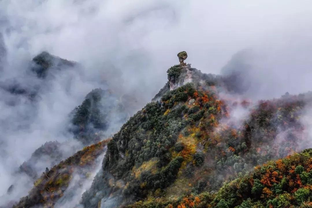 浙江山坳里有个原始宁静的云中古村落美得神秘