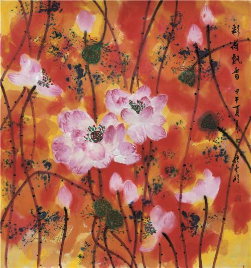 """> 商业   2015年3月8号参加中国女画家协会,博宝艺术网主办的""""中国梦&"""