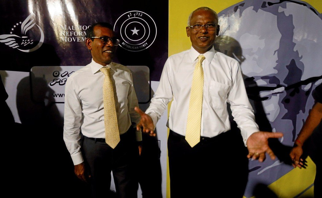 马尔代夫总统大选初步结果 反对派萨利赫获胜