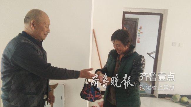 郓城一老人捡到2000元 挨个村询问终于找到失主