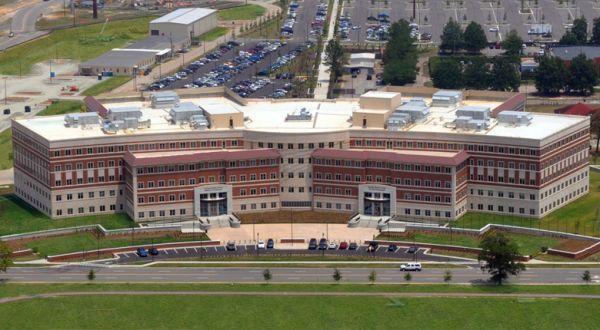 资料图片:美陆军司令部总部大楼。(图片来源于网络)