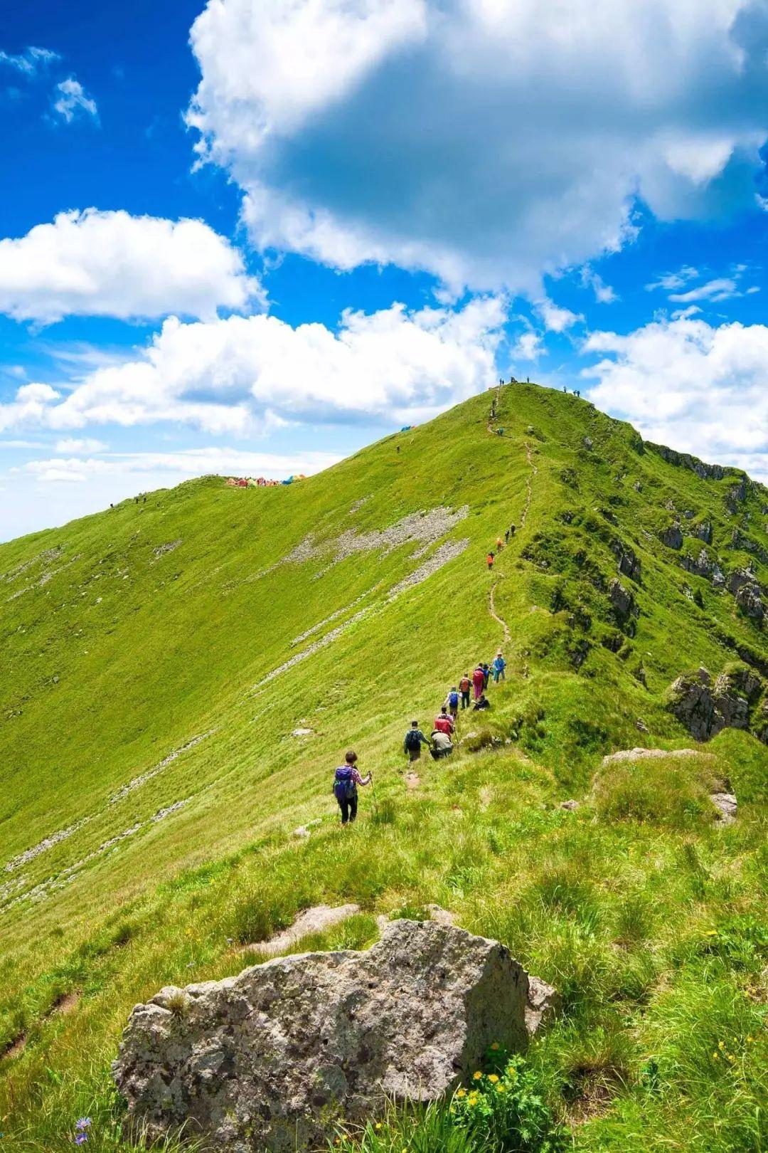 每逢重阳宜登高 十大非著名山脉人少景美