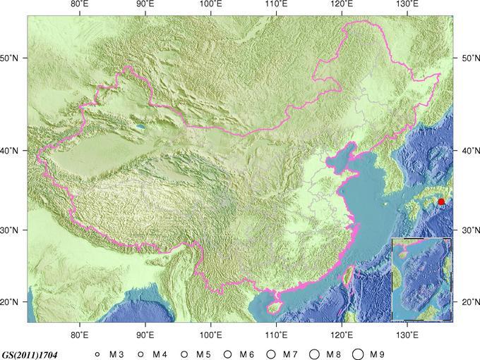 日本本州近海发生52级地震