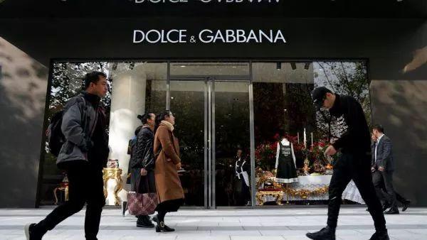 ▲一家位于中国的D&G门店(图片源自外媒)