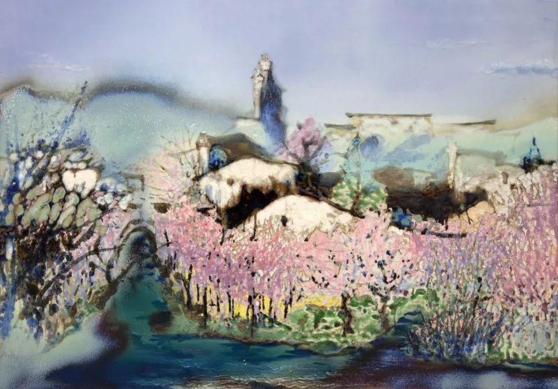 江西省庆祝改革开放40周年优秀陶瓷绘画作品展集中亮相图片