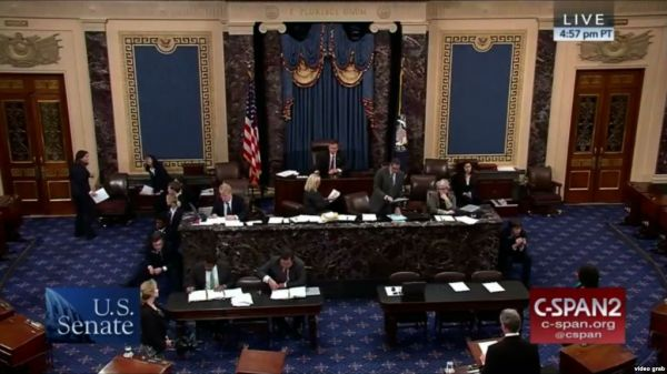 """12月11日,""""对等进入西藏法案""""在美国参议院获得通过。(图片源自美媒)"""