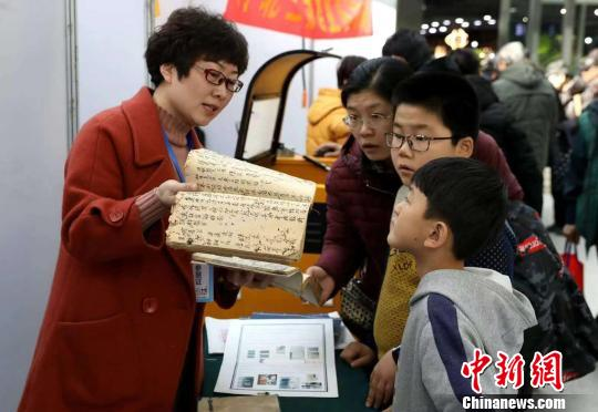 河北省第二届文房四宝艺术博览会现场。 张晓峰摄