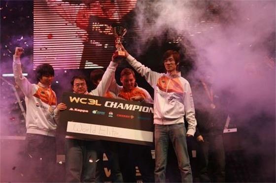 2009年WC3L#15最后一个赛季,WE夺冠