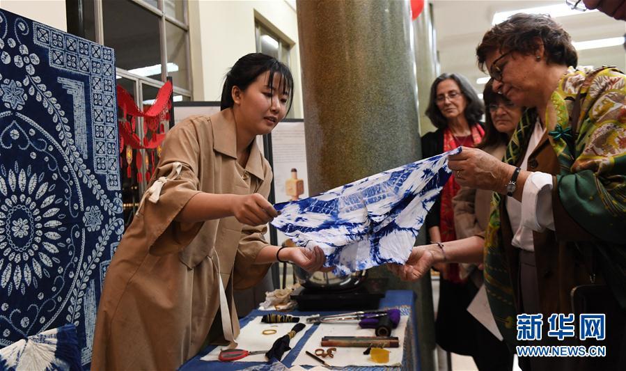 (国际)(1)天津非遗展在里斯本大学孔院举行