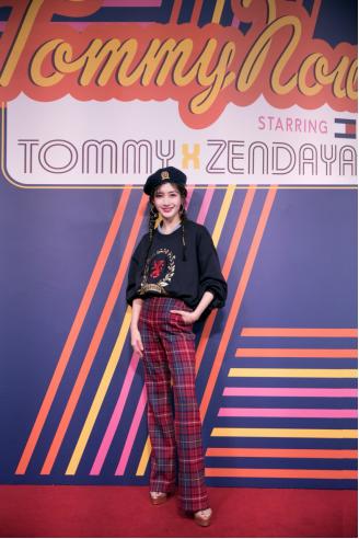 中国艺人和时尚达人出席TOMMYNOW2019年春季时装秀