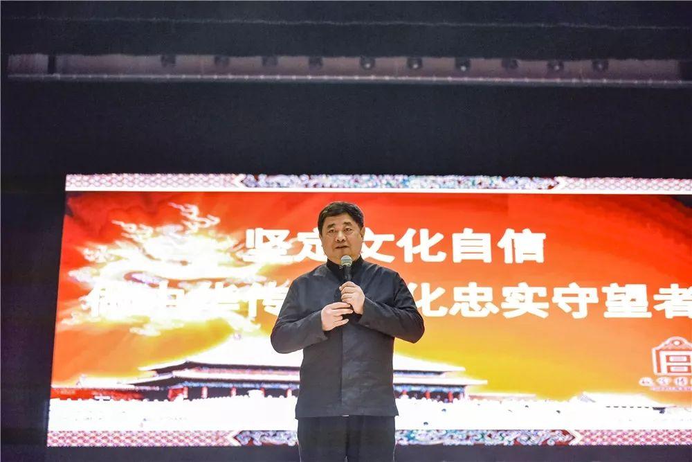 故宫原院长单霁翔退休后亮相滁州 全国沸腾