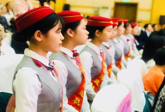 南昌向远轨道技术学校参加2019年南昌市职业教育活动周