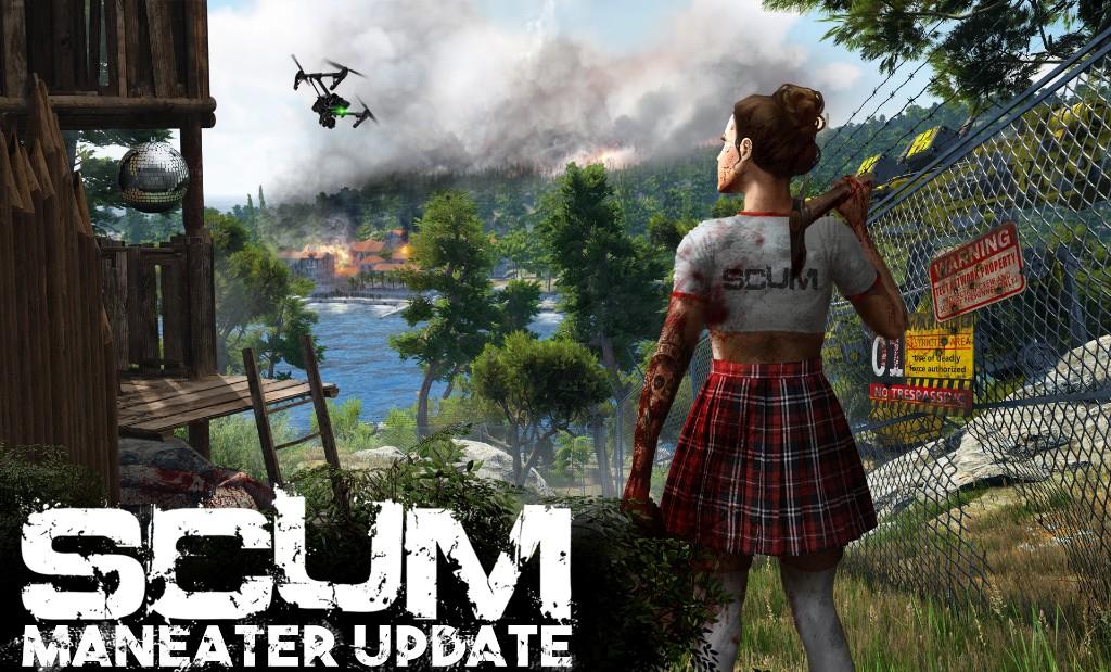 《SCUM》改版加入女角色可调胸部 同上人数激增