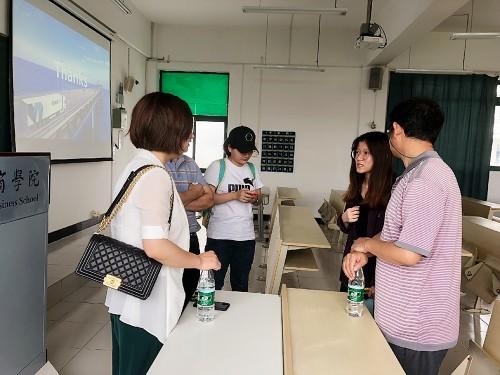 技术创新驱动物流进步 能运物流智慧物流方案走进大学课堂