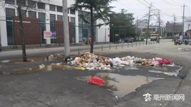 亳州市涡阳时代广场美食街市民解决垃圾盼成堆面的临淄纪念馆里管仲美食图片