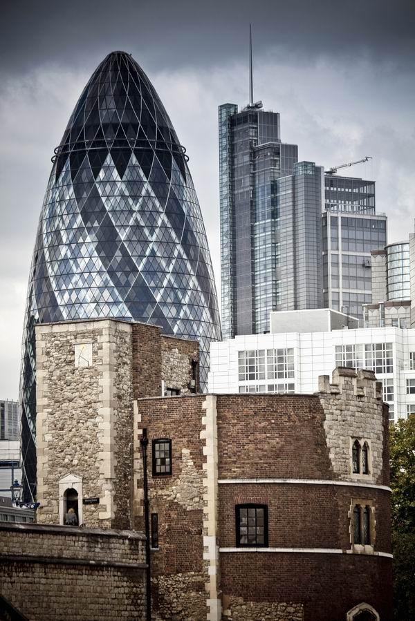 伦敦城市空间结构
