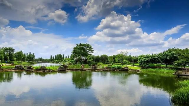 ▲生物岛人居环境优美.-广州这些小镇 不仅美 还美得很有特色
