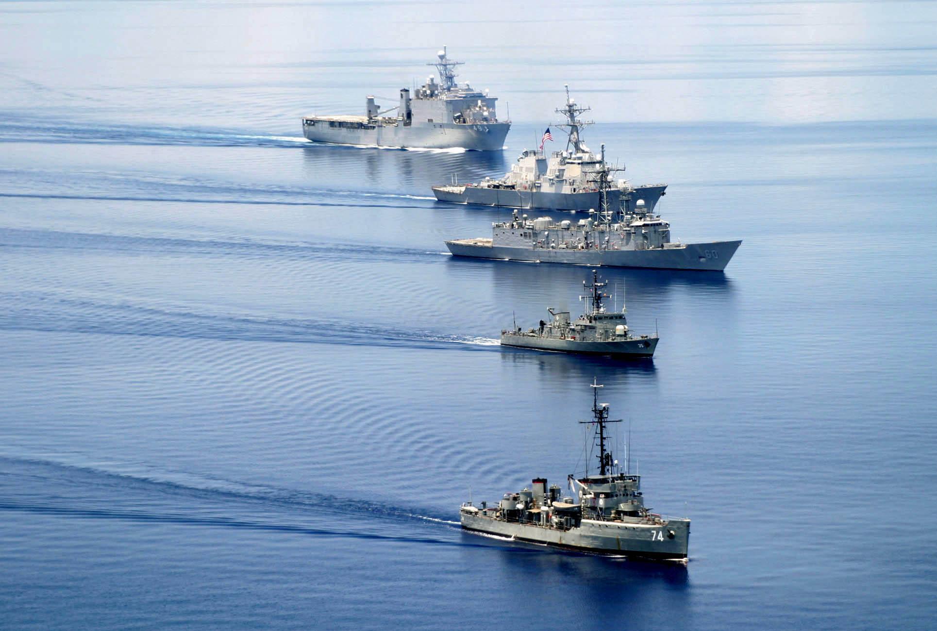 南海岛礁争端的各方中 中国是最不怵实际动手的