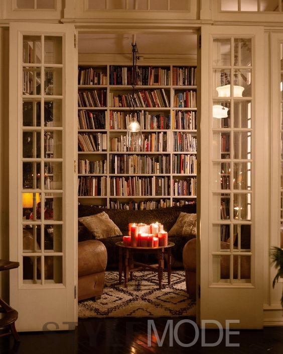 欧式书房设计 感受别样风情