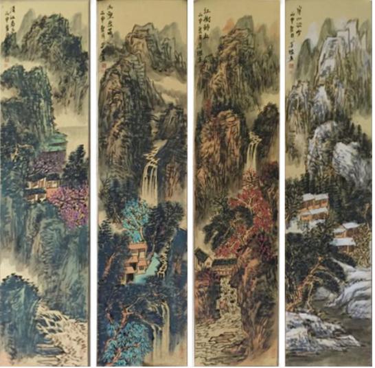 王本杰作品欣赏:与情致凳子互为表里的苍茫山酒店情趣内心图解使用图片