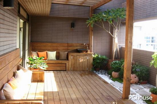 小阳台花园装修效果图