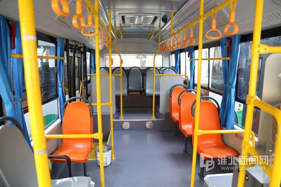 淮北市区首条电动公交线路开通