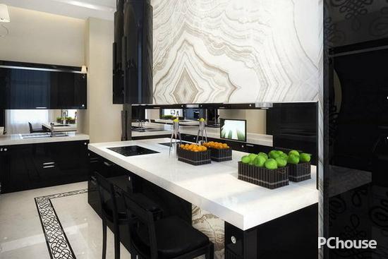 厨房吧台装修效果图图片