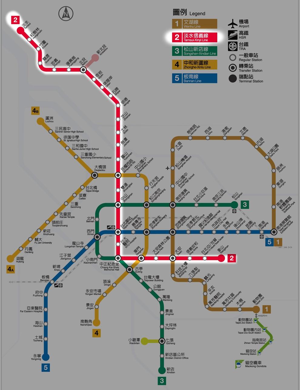 沿着台北捷运 红线 走一圈,指不定你就找到真爱了