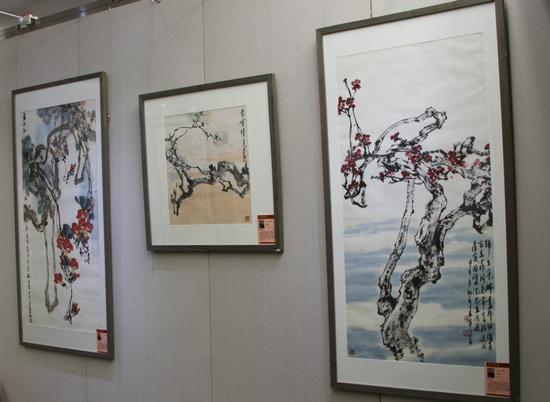 著名画家赵建民作品在全国政协礼堂展出