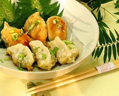 每日一素:生煎白菜饺_回味悠长百吃不厌