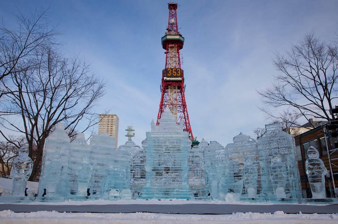 搭上冬季末班车,去看北海道这些好玩的冰雪节图片