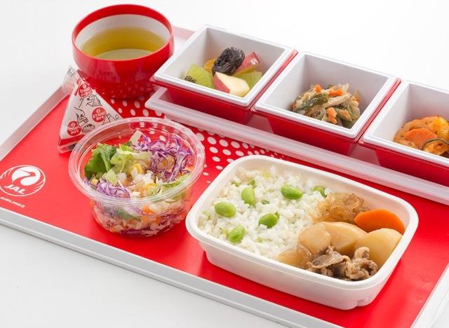 日本航空japan airlines 虽然日本航空的飞机餐不如全日航空呼声高