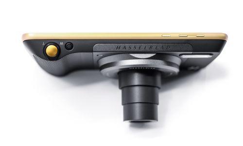 联想Moto Z系列全新产品:可更换智能模块摩眼-哈苏摄影模块HASSELBLAD TRUE ZOOM。图CFP