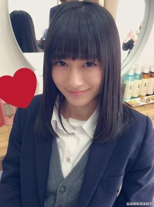 日本最可爱女生出炉 17岁击败37万人当选