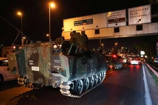 老司机懂套路!四星上将点评土耳其政变战术错误