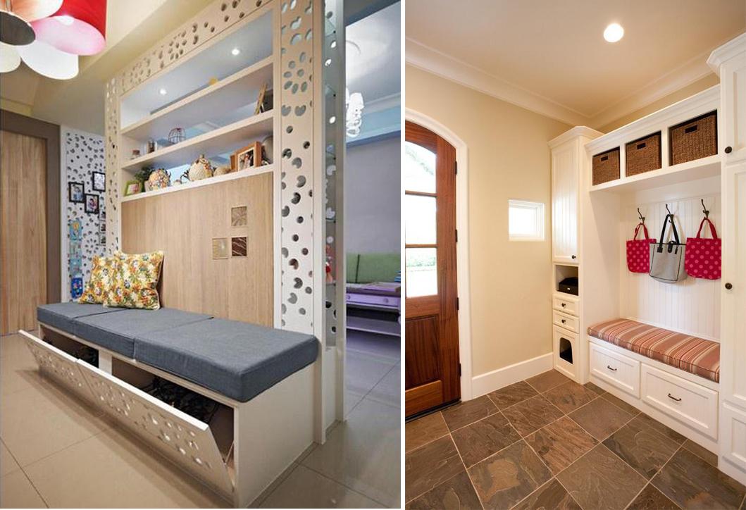 玄关家具,实用性比装饰性重要