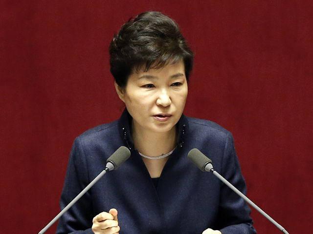 韩国总统朴槿惠。(新华/美联)