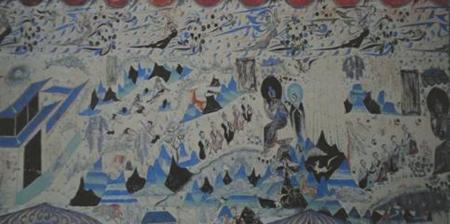 敦煌壁画藏着那么多我们熟悉的故事 九色鹿,西游记,十二星座,女子图片