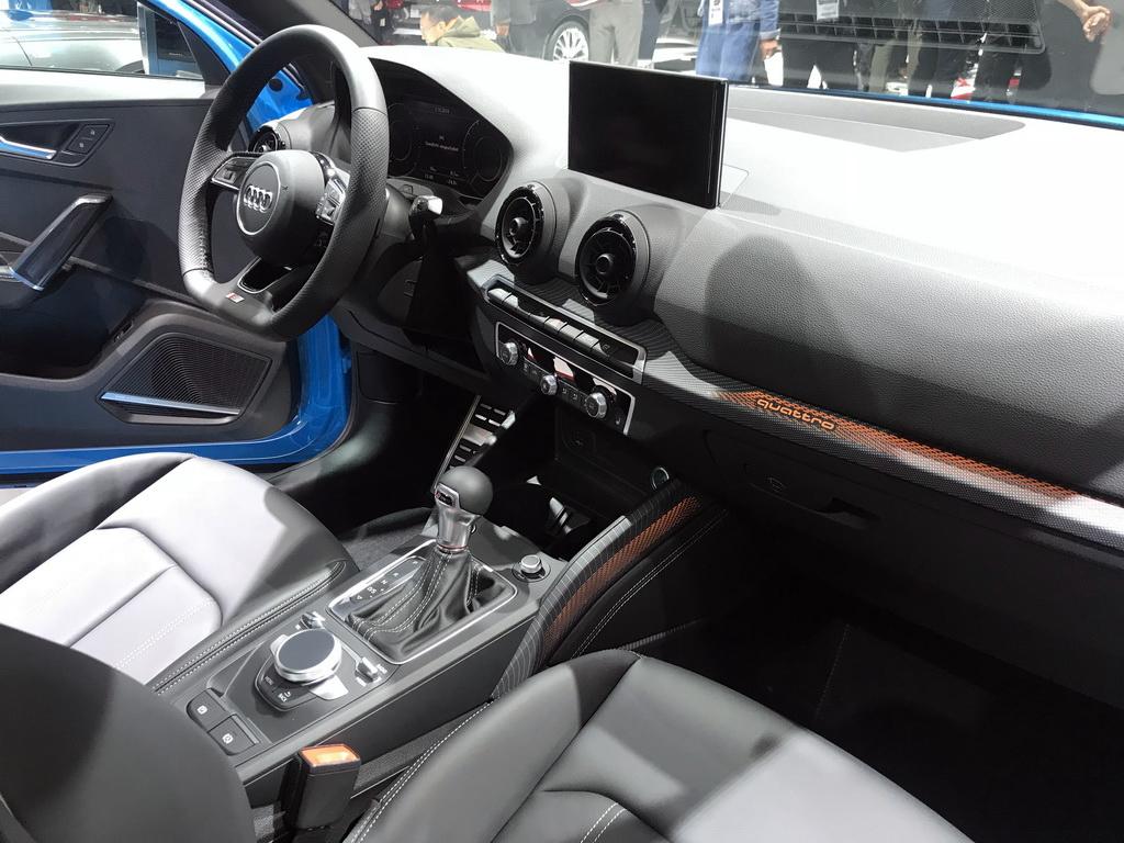 2018巴黎車展:奧迪SQ2實車全球首發