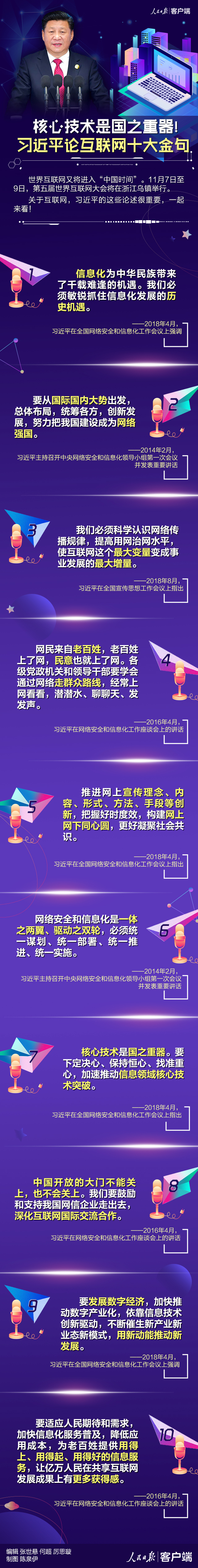 习近平论互联网十大金句
