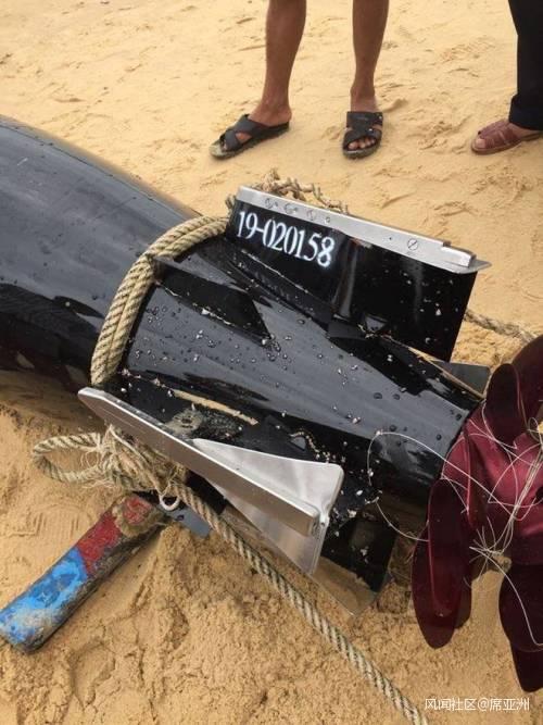 越南人捡到了中国最先进的神秘鱼雷?别扯了