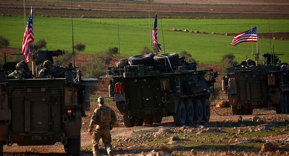 美国加强在叙利亚军事存在 调派150辆卡车