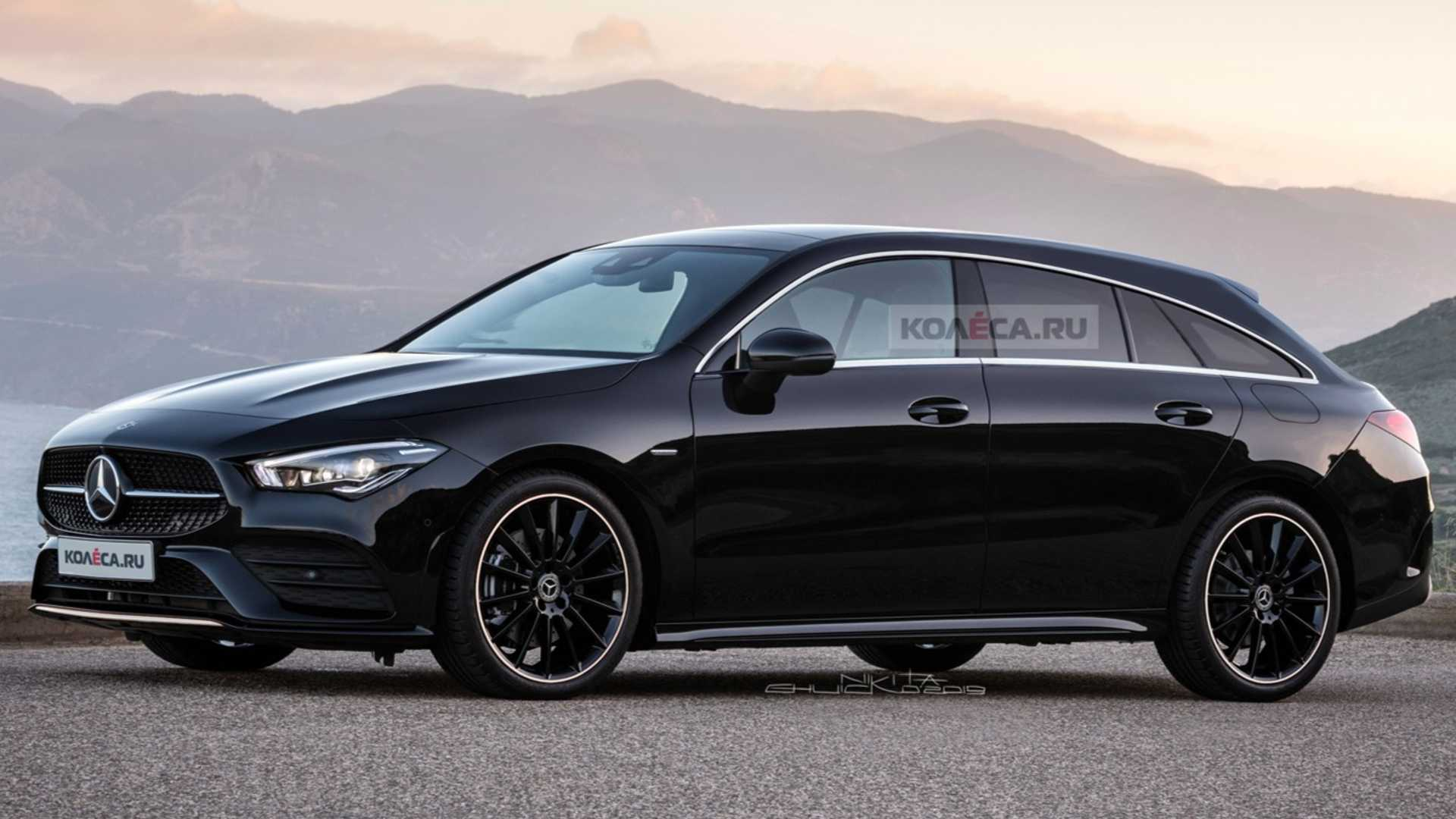 全新奔馳CLA獵裝版渲染圖曝光 日內瓦車展亮相