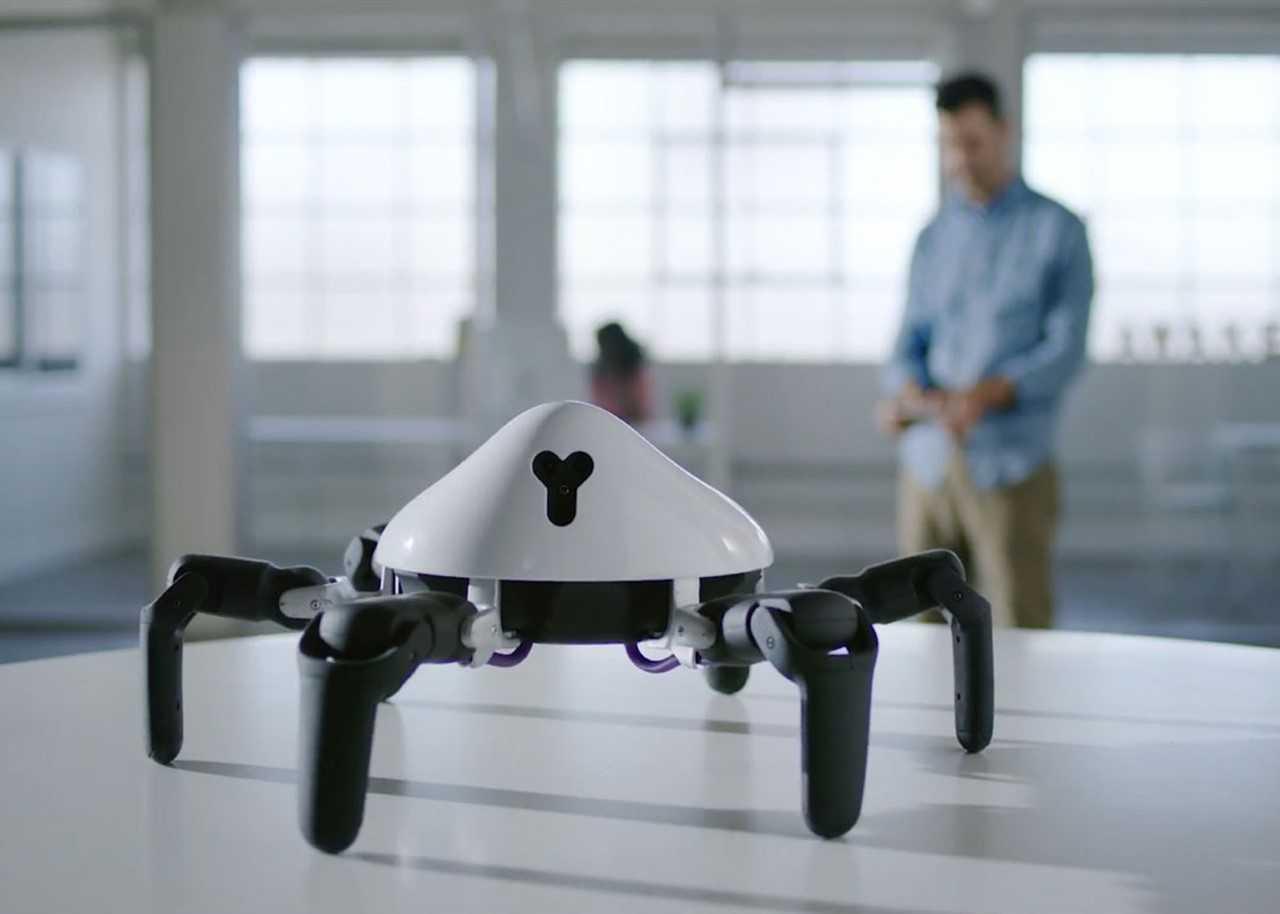 联想领投 六足机器人HEXA开发商奇弩(Vincross)融资1000万美元