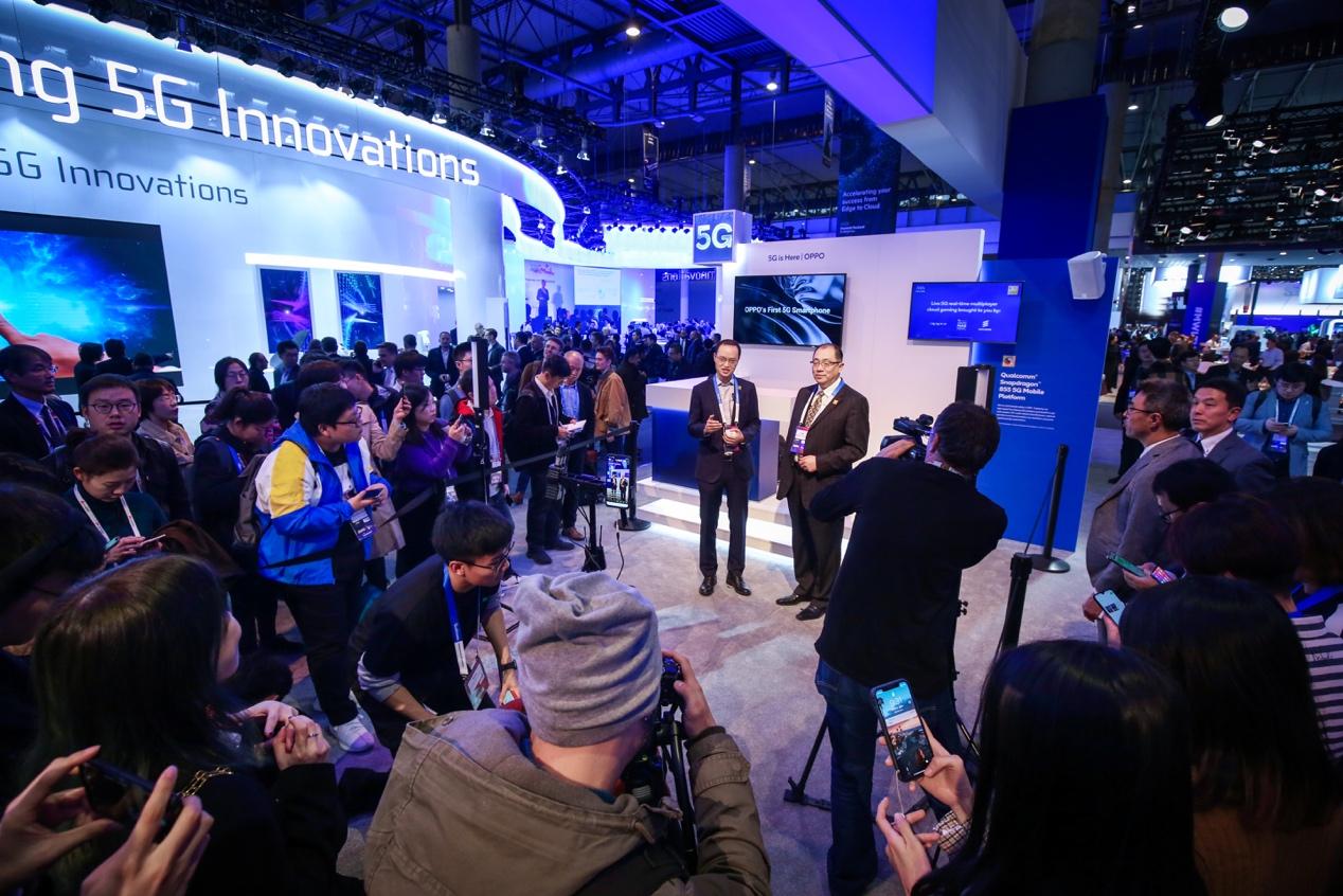 OPPO实现首次5G手机微博视频直播