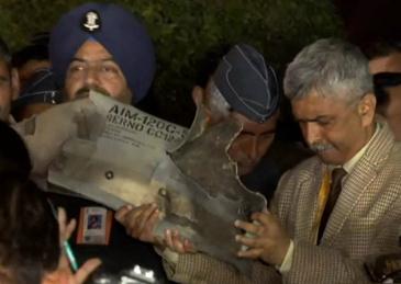 事发一天后 印度拿出巴基斯坦使用F-16的证据