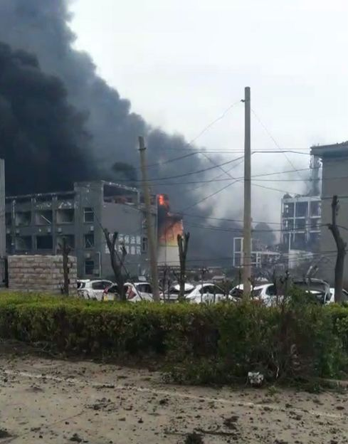盐城化工厂爆炸原因及经过 现场图片令人触目惊心!