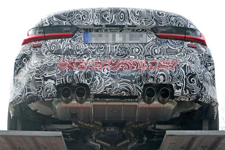 全新BMW M3谍照再次暴光
