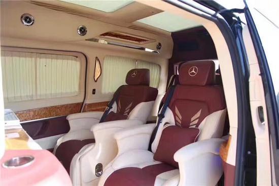 18款奔驰V250火爆畅销 进口商务豪华内饰-图11